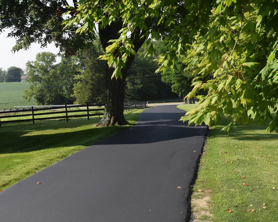 Collett Sealcoating - Residential Driveway Sealcoating